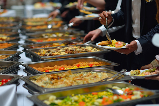 "<span style=""font-weight: bold;"">catering buffet</span>"